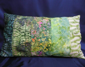 "Large cushion collection ""Indian summer"", rectangle, 5 bands (CG257)"