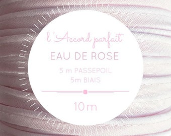 Sachet mix 5 m + 5 m bias - rose water piping