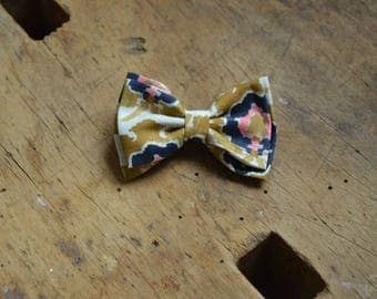 Barrette liberty bosphorus mustard and Navy Blue