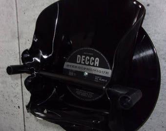 paper holder toilet vinyl record