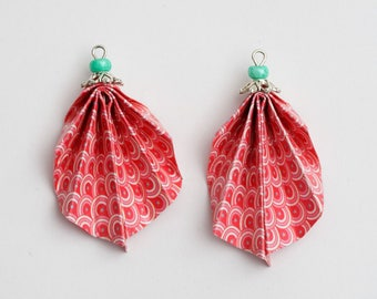 (Origami) paper for pierced or non-pierced earrings