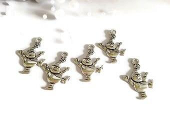 Silver snowmen