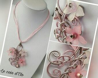 """Necklace aluminum """"Daisy"""""""