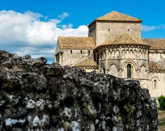 Church Holy RADEGUND TALMONT Sur Gironde