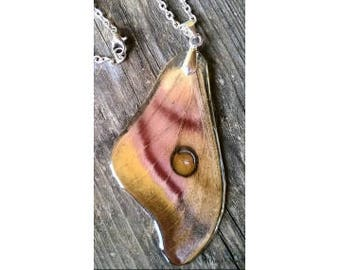 The Real saraka Silk Moth Necklace