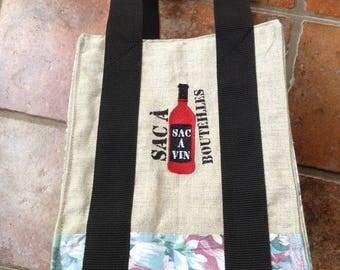 Bag wears bottles
