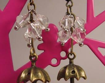 """Earrings """"in the rain"""" creat ' Y. O.N"""