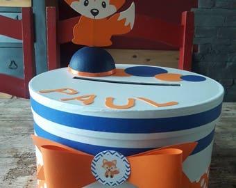 Baptism Fox urn