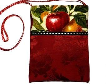 """Shoulder bag multicolor pattern """"fruit"""""""