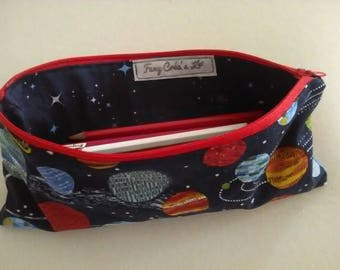 pencil case for pencils and small material or colors or pens pencils