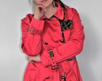 Mid season jacket Red