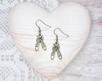 Ballerina, dance, dancer earrings jewelry