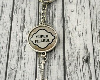 "Key man custom ""super godchild"" guitar charm"