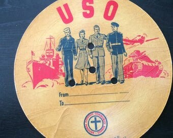 World WarvTwo USO voice letter recordings