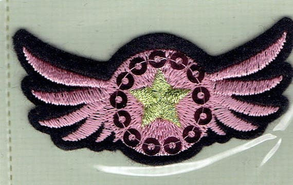 """Patch fusible pattern """"wing"""" trendy"""