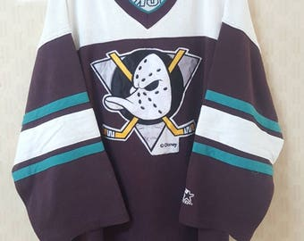 Vintage disney Anaheim Mighty Duck Jersey by Starter XL