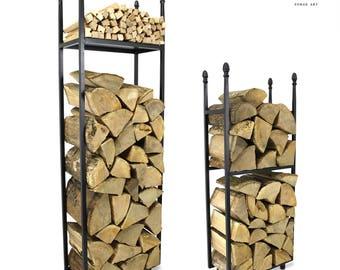 The Worcestershire Log Holder Firewood Rack Log Basket Firewood Holder Firewood Storage