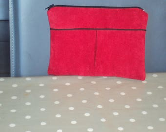 Small cosmetic case red n ° 2