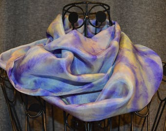 made with a painted p9 scarf snood manually shade 6