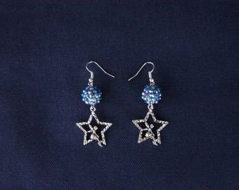 Tinkerbell earrings in the stars