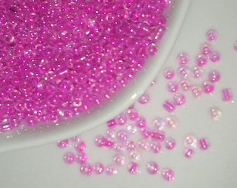 nearly 900 beads seed beads 2 mm hole approximately 1 mm 14 g