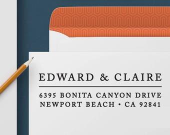 Return Address Stamp 344 - Self Inking Stamp, Custom Address Stamp, Custom Stamp, Personalized Address Stamp, Wedding and Housewarming Gift