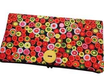 Glasses pouch cases Kit ° confetti multicolored ° Carnival dots fabrics