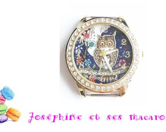 1 watch Golden OWL 4.5 cm