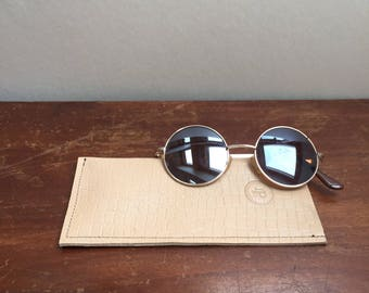 Leather Sunglasses // Glasses Slip Case - L.PITTFORD - Made In England - Handmade