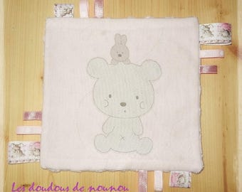 taggy / ribbons baby girl Teddy bear