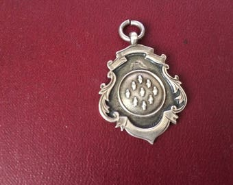 Silver Medal dated; 1927 for Skittles with Birmingham Hallmark