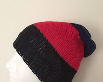 LGBTQ+ Polyamorous Pride Slouchy-style Beanie Hat