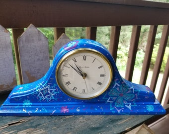 Boho Mantle Clock
