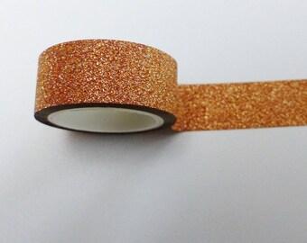 masking tape doré paillettes 15 mm X 3 m