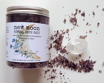 NEW MOON | Ritual bath salt