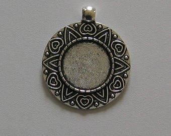 Silver medium cabochon 18 mm (SC028)