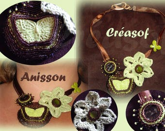 Anise choco Anisson OOAK necklace