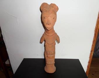 Big statue of Queen NOK - Nigeria