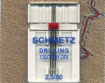 Needles triple Schmetz sewing machine 80.