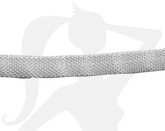 chain - various colors - 20 cm flat effect woven mesh 10mm - CHNE10