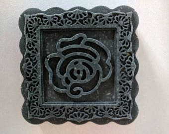 Activated charcoal square soap