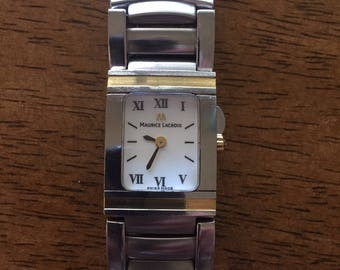 Maurice lacroix miros integral 18k /stainless(swiss)