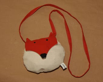 My first girl bag, mini bag in hand - the cunning Fox