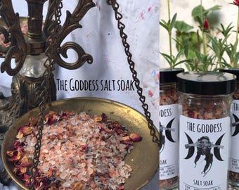 Goddess Salt Soak