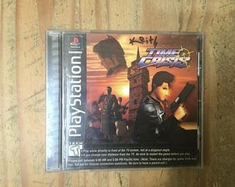 Time Crisis Sony PlayStation 1