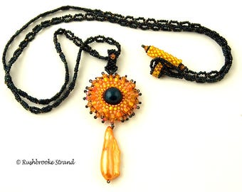 Tropical Sunset necklace