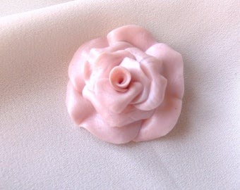 Flower cabochon * powdered transparent * individually No. 3