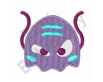 Space Invader Alien - Machine Embroidery Design