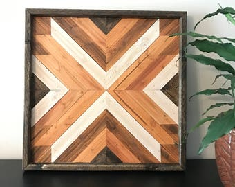 Charmant Wood Wall Art  Wood Wall Decor  Wood Art  Geometric Wood Wall Art