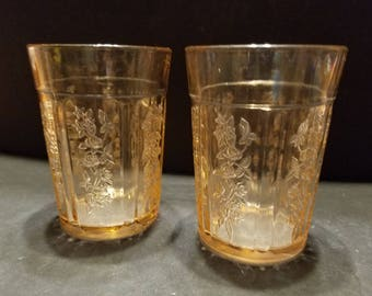 Sharon Rose Federal Thick Wall Tumbler Set of 2